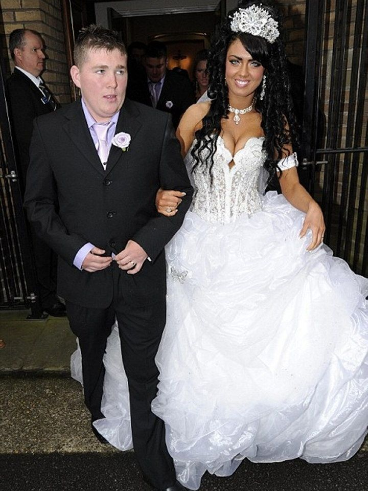 My Fat Gypsy Wedding Britain S Youngest Bride Gets Married In Celebration