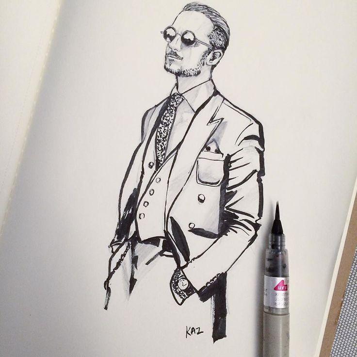 by @craftbykai Click #draghetto86sketch to view all illustrations #vincenzolangella #draghetto86