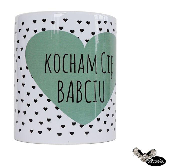 Kocham Cię Babciu, kubek ceramiczny 450/330ml