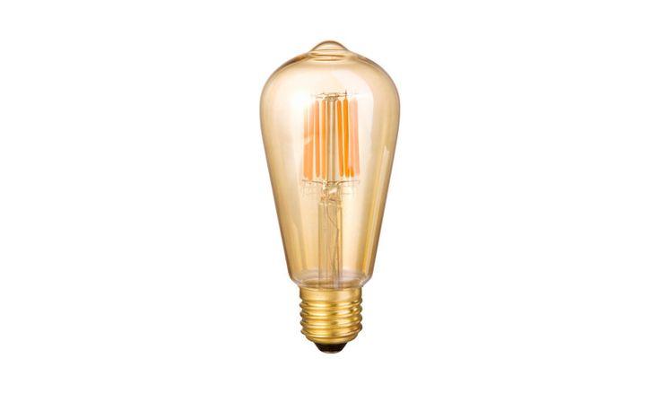 Mr Ralph - LED - Tear Drop - GILD (smokey glass) - E27 Screw-in, Bulbs