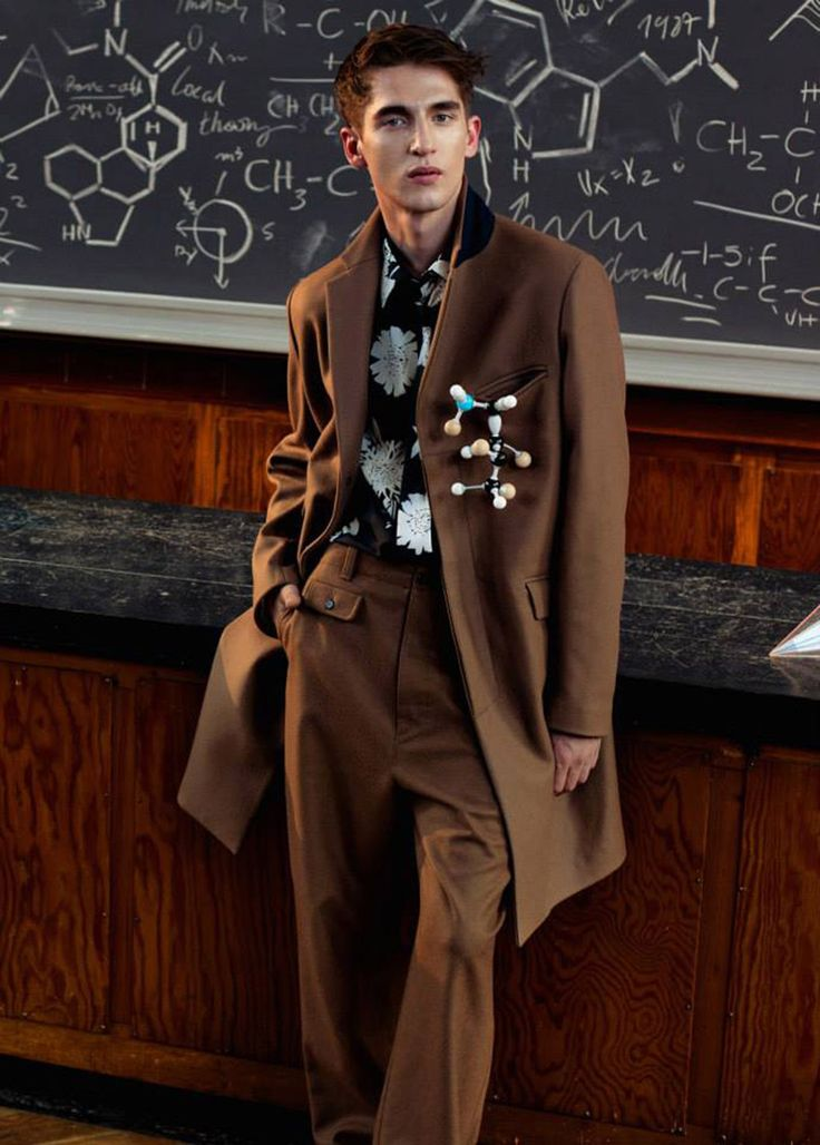 Anatol Modzelewski photographed by Michal Kar and styled by Michal Kus, for the latest issue of L'Officiel Hommes Singapore.