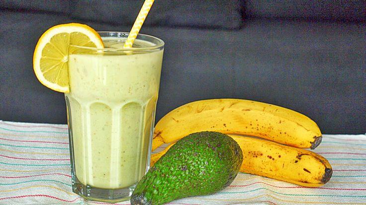 Polskie South Beach: Smoothie z awokado i bananem