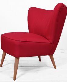 #Atelio #fotel #krzesło #chair #armchair #red #czerwony #design #interior #handmade #ręcznie #robione #polish #poland #sklep #online #store #prl #meble #60