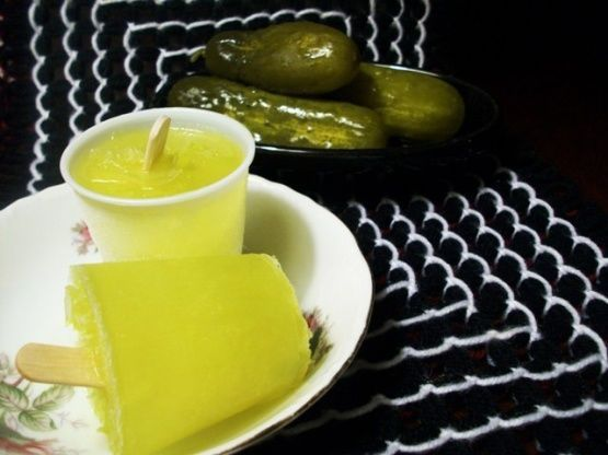 DIY Pickle Popsicles - This Recipe for Pickle Juice Ice Pops Makes for an Usual Summer Treat