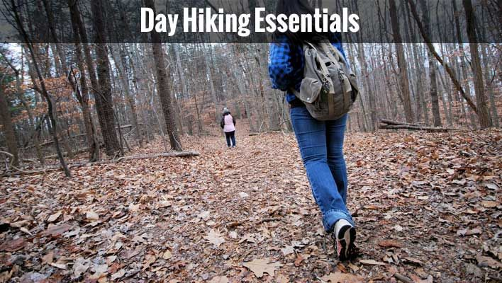 Day Hiking Essentials - Do you enjoy hiking?  Don't forget these family essentials when out on the trail!