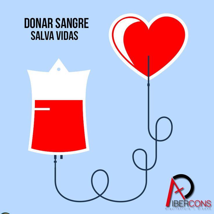 ¡Hoy es el día mundial del donante de Sangre e Ibercons Arquitectura + Diseño te invita a que te unas a esta buena causa humanitaria! Visita nuestra página web: www.ibercons.com.co