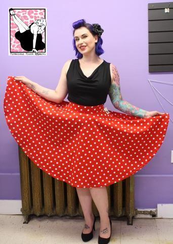 Pinup Pretty Skirt - Vintage Skirts - Addy's Dress