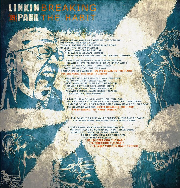 Linkin park - Breaking the Habit by The12RZ on DeviantArt