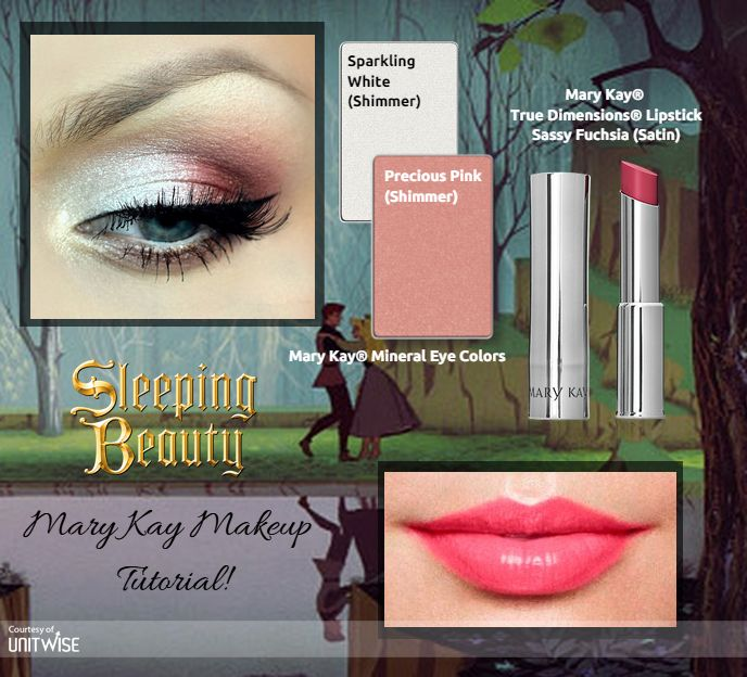 A fun and flirty, Disney - Sleeping Beauty Inspired Look with Mary Kay! Call or Text: 225.369.7381 Shop Online: www.marykay.com/bekkakaye LIKE my Page: www.facebook.com/BekkaKayeMaryKay