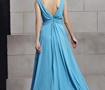 Вдохновляющая картинка 2013, синий, шифон, вечер, долго, платье для выпускного вечера, V-образный вырез, 707622 - Размер 600x900px - Найдите картинки на Ваш вкус