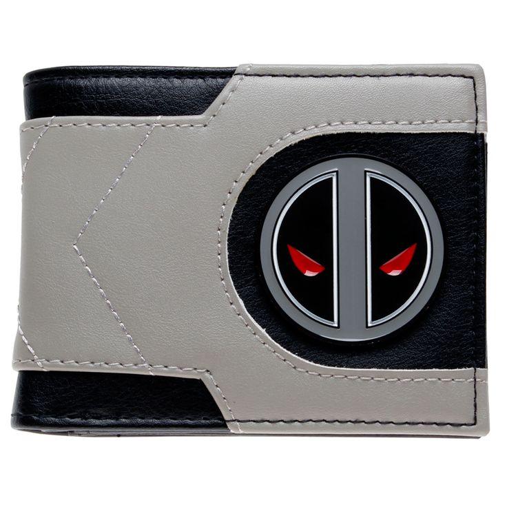 The unique Wallet Deadpool Grey Wallet Emblem Merch Loot  -  The unique faux lather wallet by your favourite fandoms. Size: ~ 85mm x 110mm x 15mm  Check more at https://idolstore.net/shop/wallets/wallet-deadpool-grey-wallet-emblem-merch-loot/