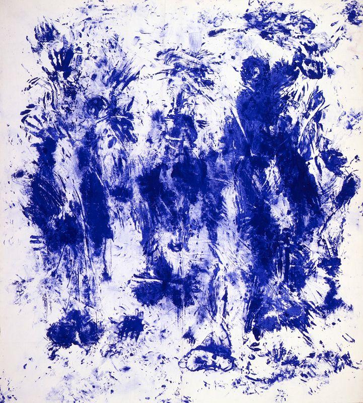 Contemporary Art Blog | Yves Klein, Anthropometries