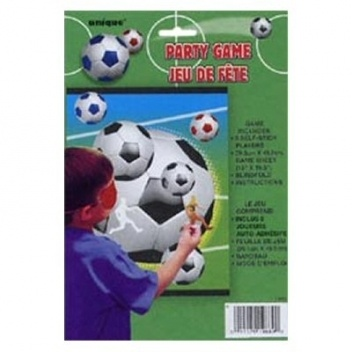 feestspelletje voetbal thema feestartikelen voetbal : mypartyinabox