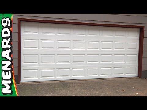Hidden garage door opener button keypad - YouTube