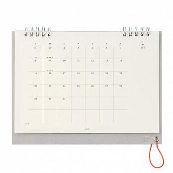 MIDORI MD 2017桌上型月曆