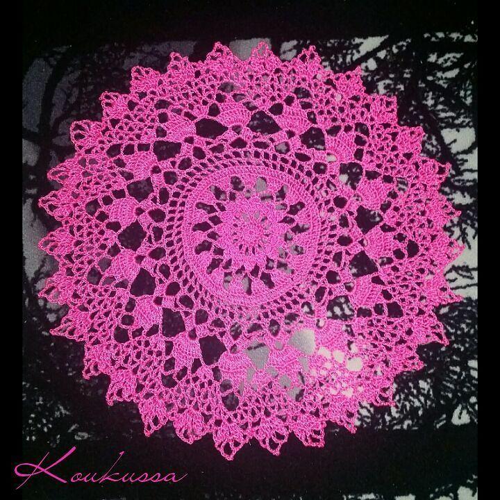 Have to try masonry rope little table cloth what turn out to be almost 60 cm :) Muurausnarusta pieni pöytäliina mikä vaan kasvoi ja kasvoi :) #masonryrope #masonyarn #muurausnaru  #crochettablecloth #yarnaddict #instavirkkaajat #instacrochet #crochetersofinstagram #crochet #virkkaus #virkattupöytäliina #virkattutabletti #crochetlace #crochetlacetablecloth #muurarinalku #lovetocrochet #virkattu by koukussa