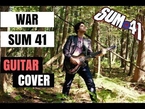 WAR - Sum 41 (guitar cover) || InVinceble - YouTube