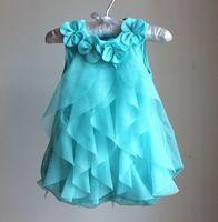 0 - 24 M bebê roupas de verão 2015 nova vestido de macacão infantil mês inteiro anos da criança meninas vestidos de festa de aniversário macacões TR159