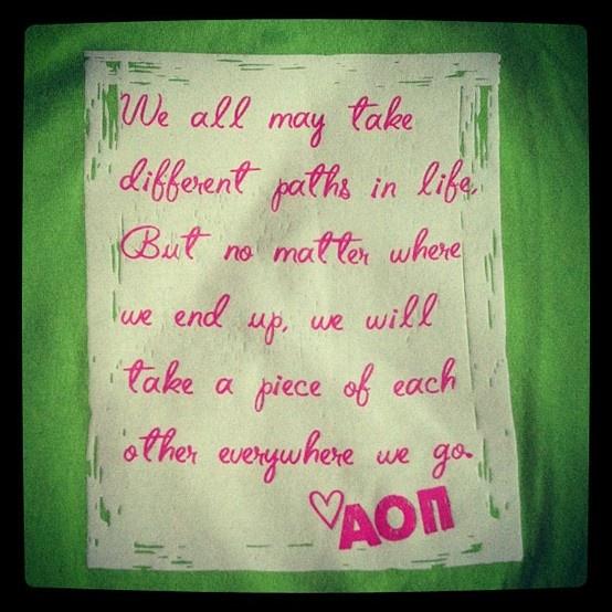 Idea for CCI's seniors; quote by Tim McGraw
