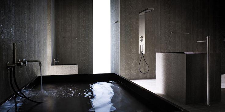BATHROOM//Photo by Photografica #bathroom #bagno #design #wellness #geda #water #atmosphere