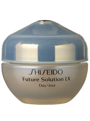 This rich daily Shiseido moisturizer with antioxidants and SPF 15 hydrates, tightens skin, and protects from sun damage.