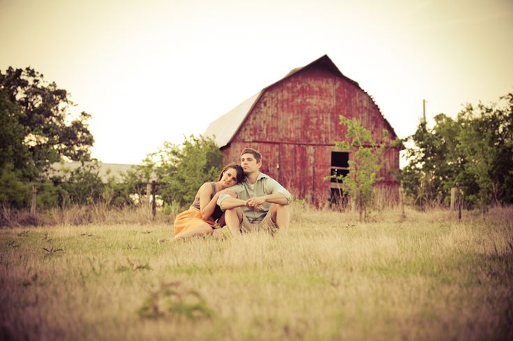I'll have an old red barn one day <3