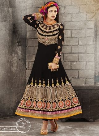 Indian Women Wear Anarkali Dress With gorgeous Design 1820 http://www.angelnx.com/Salwar-Kameez/
