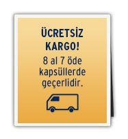 Ücretsiz Kargo! 8 al 7 öde kapsüllerde geçerlidir. - http://www.tchibo.com.tr/cafissimo-kahve-makinesi-c400013805.html
