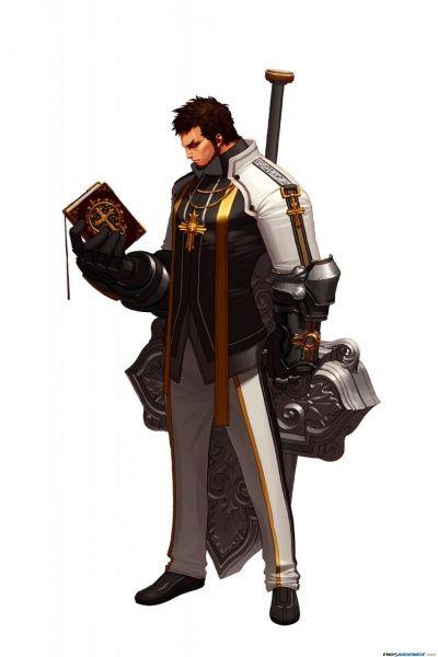 Dungeon Fighter Online Concept Art - Priest 4