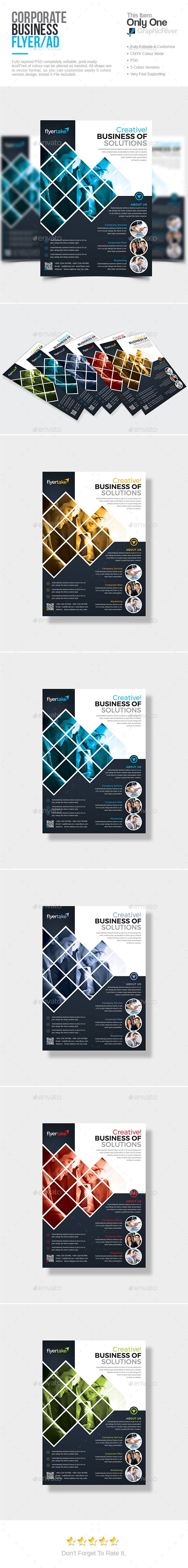 Corporate Flyer Template PSD. Download here: http://graphicriver.net/item/corporate-flyer/15582382?ref=ksioks