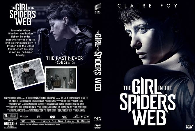 The Girl In The Spider 039 S Web 2018 Dvd Custom Cover With