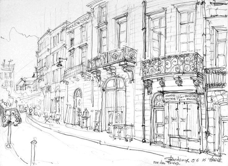 Bordeaux, rue des Faures