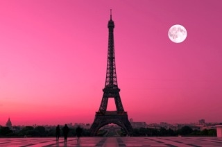 Pink Parisian Sky #MissKL and #SpringtimeinParis