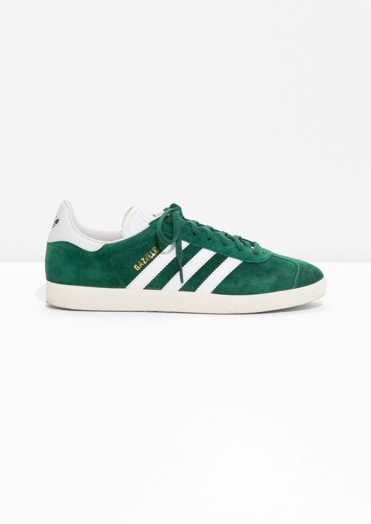 & Other Stories image 1 of adidas Gazelle in Green