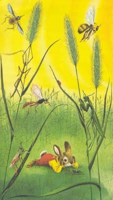 "From ""I Am A Bunny"" by Ole Risom, illustrations by Richard Scarry"