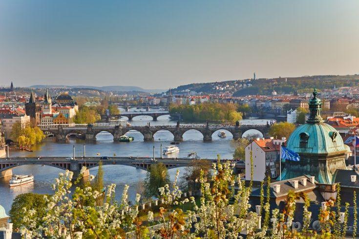 Fotka, Foto Praha, mosty přes Vltavu (Česká republika)