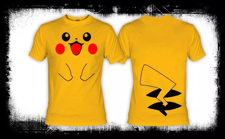 cuerpo de pikachu camiseta pokemon gameboy nintendo