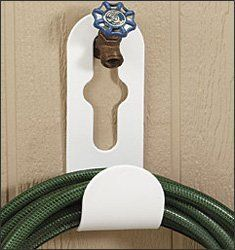 Faucet Mount Hose Holder By Walter Drake. $8.99. Hose Hook Fits Over Spigot!