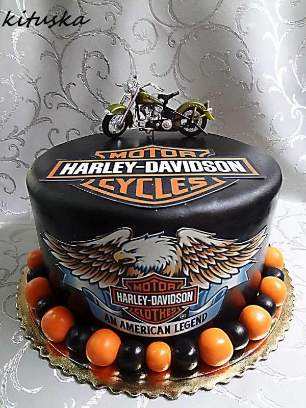 Harley Davidson , narodeninové torty | Tortyodmamy.sk