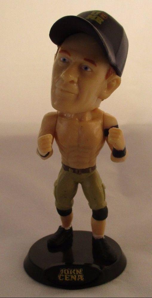 WWE John Cena 2014 Bobblestars Series 1 Wicked Cool Toys Wrestling Figure #WickedCoolToys