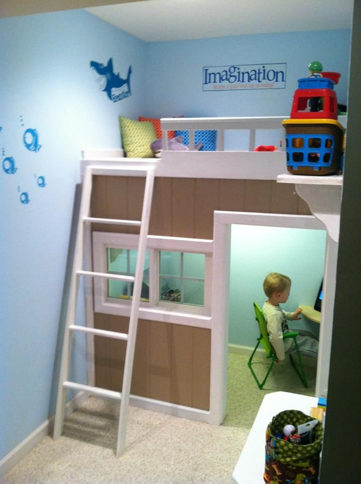 25 Amazing Space Theme Rooms Giving Great Inspirations To DIY. Playhouse  BedIndoor PlayhouseKids Fort ...