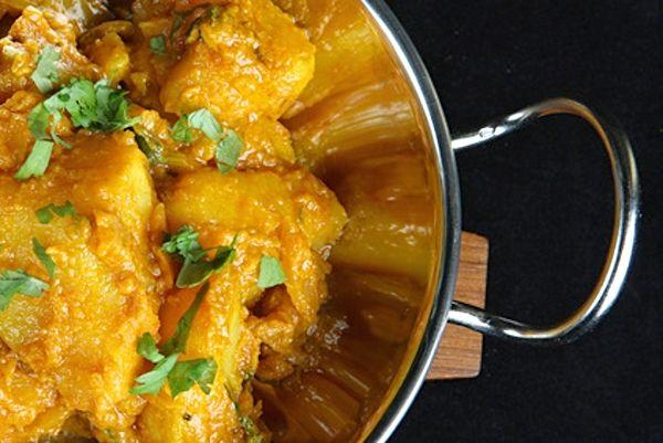 Recept na Bombajské brambory