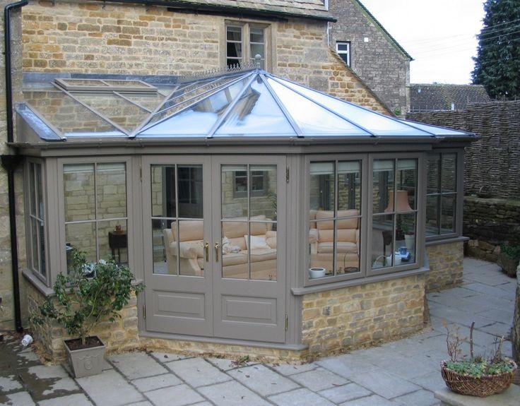 Upvc orangery conservatory colours cottage ideas for Cost of solarium