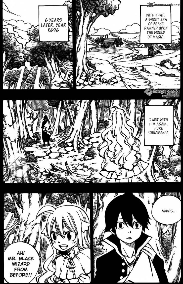 Fairy Tail 449 - Page 11 | Zervis reuniting