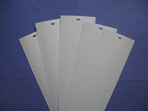 PVC Vertical Blind Replacement Slat Smooth (White) 10 Pk ... https://www.amazon.com/dp/B00770U8FI/ref=cm_sw_r_pi_dp_x_tzDzybFH3YCF1