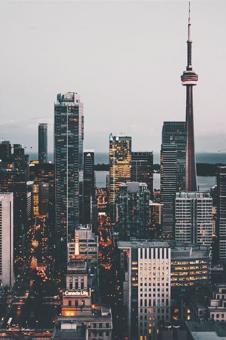 Toronto Ontario Travel City Wallpaper Travel Wallpaper Background
