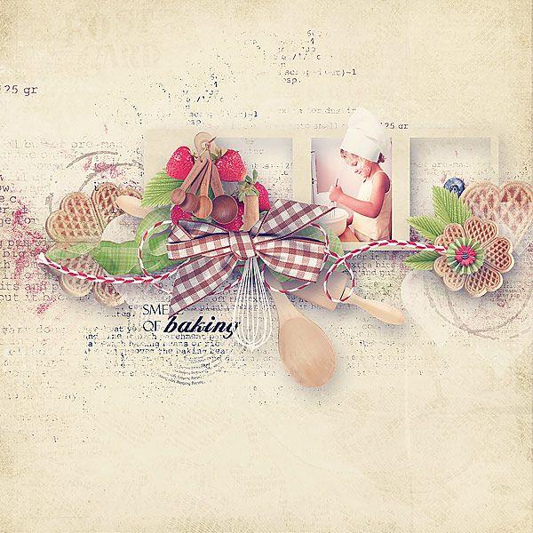 I love baking (Collection) by Mediterranka Designs @ MSAD