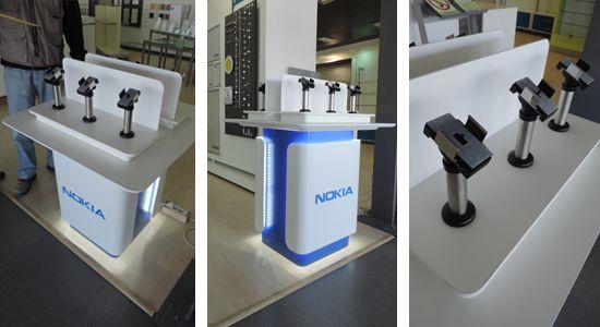 Grupo todo - Expositor telemóveis Nokia