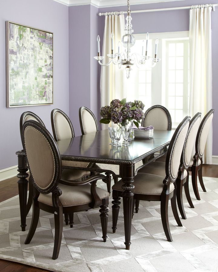 Mirrored Dining Room Set: Ava Mirrored Dining Room Furniture