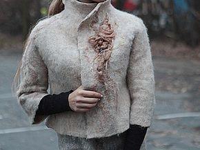 МК по валянию жакета - Ярмарка Мастеров - ручная работа, handmade